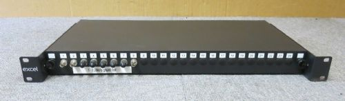 Excel 200-378 24 Way Mulitmode Fiber Optic Panel With 8 x ST Adapter